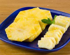 Como descascar abacaxi e ananás