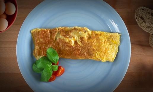 Como fazer uma omelete