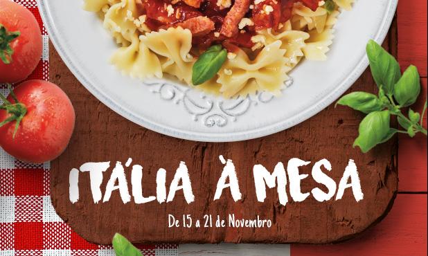 Itália espera por si à mesa