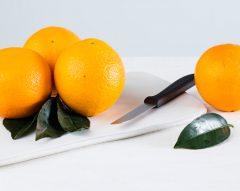 Como descascar laranja