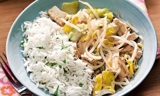 Tofu aromático