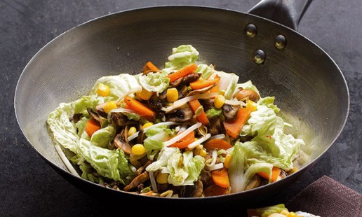 Legumes no wok