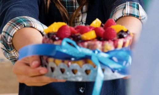 Pudim de fruta