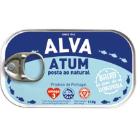 Atum Alva Posta Natural 110 Gr
