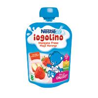 Bolsa Iogolino Nestlé Morango Maçã 90G