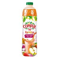 Sumo Compal Familia Frutos Do Pomar1,5Lt