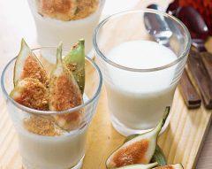 Mousse de iogurte e leite condensado