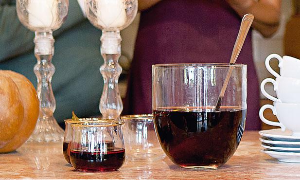 Vinho quente com vinho do Porto
