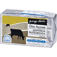 Manteiga Pingo Doce  Com Sal Açores 250 Gr
