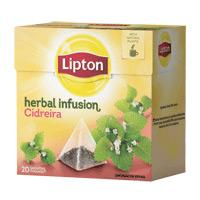 Lipton Pyramid Cidreira 12X20Sq