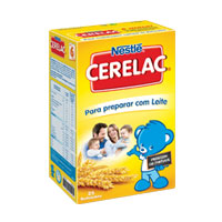 Farinha Nlact Cerelac 8 Cer Mel 250Gr