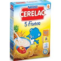 Farinha Láctea Cerelac 5 Frutos 250Gr