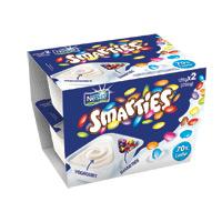 Iog Bic Nestlé Smarties Baunilha 2X128G