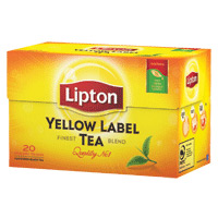 Cha Lipton Preto Yellow Label 20 Saq.