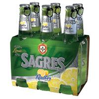 Sagres Radler Cerveja C/alc Tp 33Cl