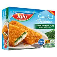 Crocantes Peixe C/espinafres Iglo 200G