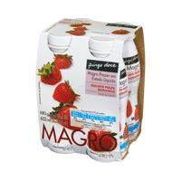 Iogurte Liquido Mag Pingo Doce  170G, Morango
