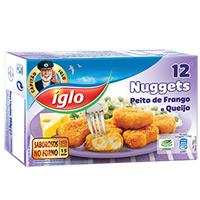 Nuggets De Frango C/queijo Cap Iglo 250G