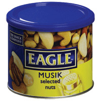 Frutos Secos Musik Eagle Lata 250 Gr