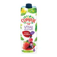 Sumo Compal Vital Frutos Vermelhos 1Lt