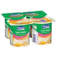 IogurteBat Polpa Mimosa 125, Lar/ban/bolach