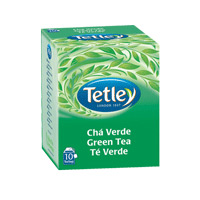 Chá Tetley Verde 10 Saq.