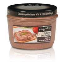 Paté Pingo Doce Pimenta Preta 125Gr