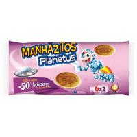 Manhãzitos Planetus -50% Açúc 210Gr