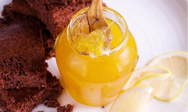 Doce de limão com gengibre