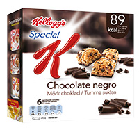 Barras Special K Chocolate 6X21,5Gr