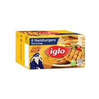 Hamburgers Frango Capitão Iglo S/glutén 480G