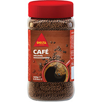 Café Delta Solúvel C/cafeina Fr 100 Gr