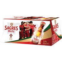 Cerveja C/alc Sagres Mini 24X20Cl