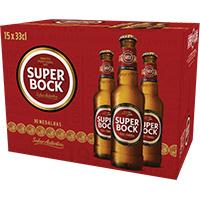Cerveja C/ Alc Super Bock 15X33Cl