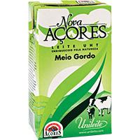 Leite Uht Meio Gordo Nova Acores 1Lt