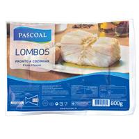 Lombos Bacalhau Pascoal 800G
