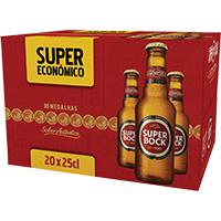 Cerveja C/alcool Super Bock 25Cl