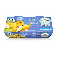 Puré Fruta Pingo Doce Maçã Banana 2X100G