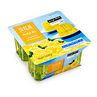 Gelatina 10Kcl Pingo Doce Limão 4X100G