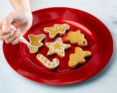 Bolachas de gengibre de Natal em 10 passos