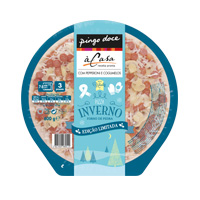 Pizza Fresca Inverno Pepperoni Cogumelo Pingo Doce 600G