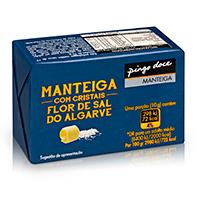 Manteiga Com Flor Sal Do Algarve Pingo Doce 125G
