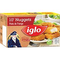 Nuggets Frango | Capitão Iglo 208G - 10 Unidades