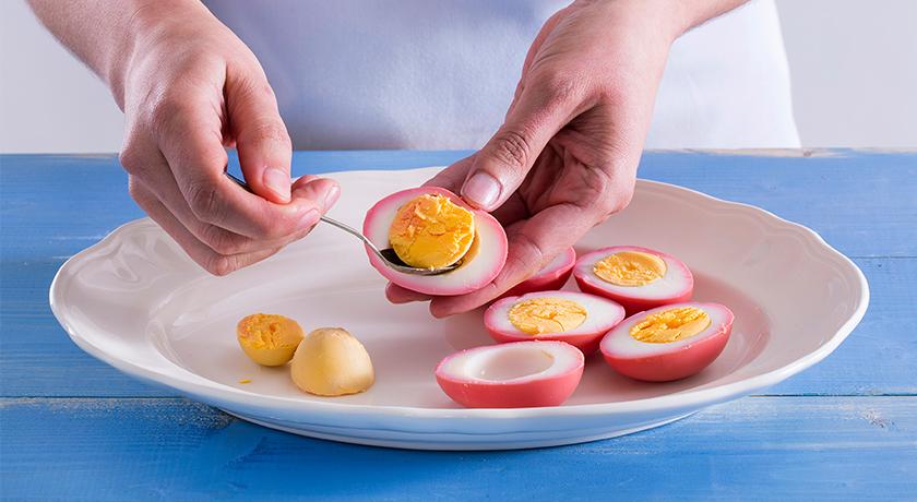 Ovos rosados: coloridos e deliciosos