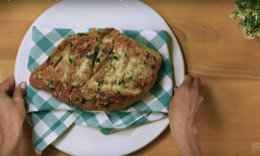 Pão de queijo e ervas