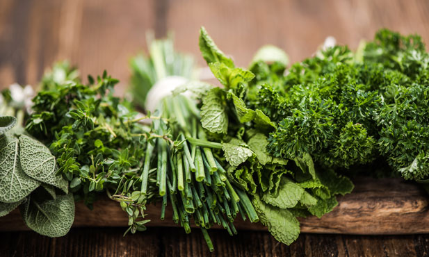 Como usar ervas aromáticas na cozinha