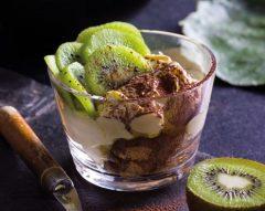 Tiramisu de kiwi