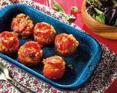 Tomate recheado à grega