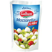 Queijo Mozzarella Mini Galbani 150G