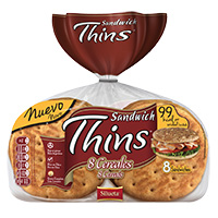Thins Bimbo 8 Cereais 310 Gr